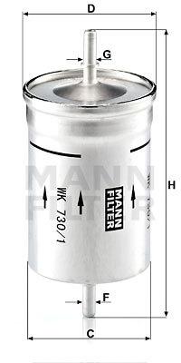 Palivový filter MANN+HUMMEL GmbH