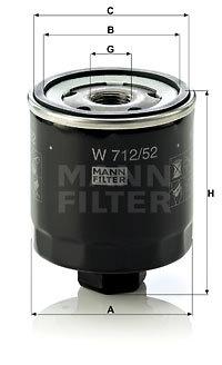 Olejový filter MANN+HUMMEL GmbH