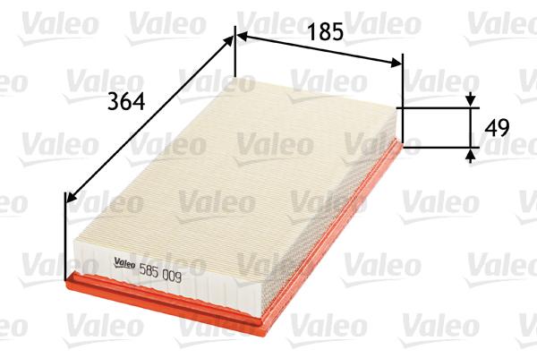 Vzduchový filter Valeo Service