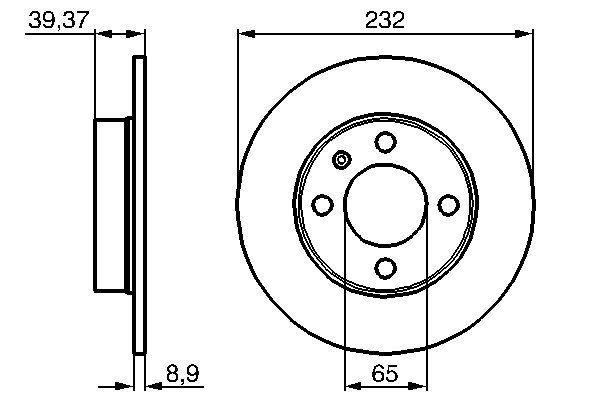 Brzdový kotúč Robert Bosch GmbH