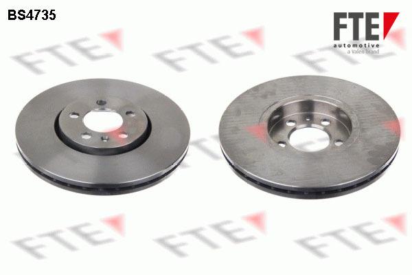 Brzdový kotúč FTE automotive GmbH