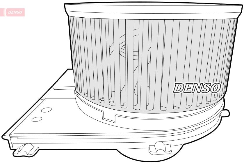 Vnútorný ventilátor DENSO Europe B.V.