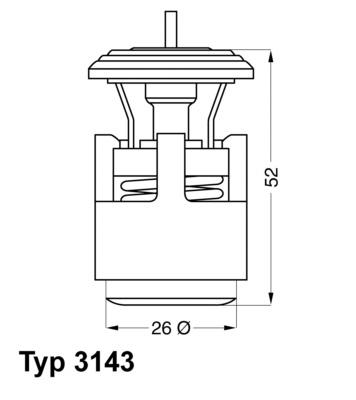 Termostat chladenia BorgWarner Ludwigsburg GmbH