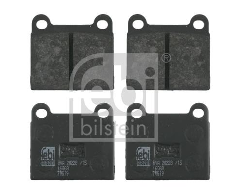 Sada brzdových platničiek kotúčovej brzdy Ferdinand Bilstein GmbH + Co KG