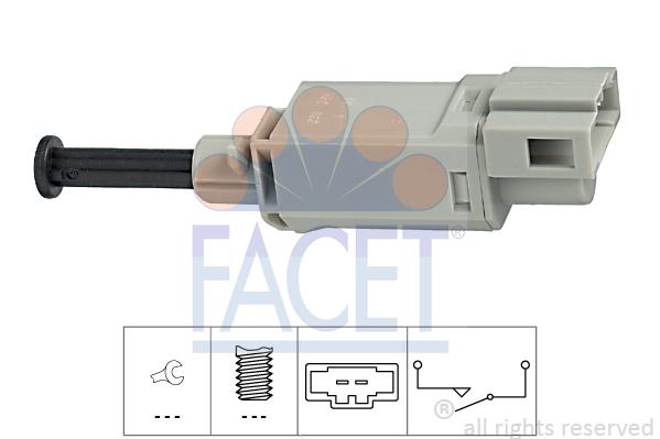 Spínač ovládania spojky (pre tempomat) FACET