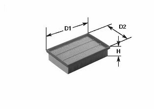 Vzduchový filter CLEAN FILTER