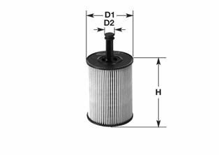 Olejový filter CLEAN FILTER