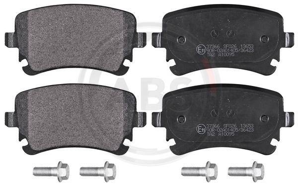 Sada brzdových platničiek kotúčovej brzdy A.B.S. ALL BRAKE SYSTEMS BV.