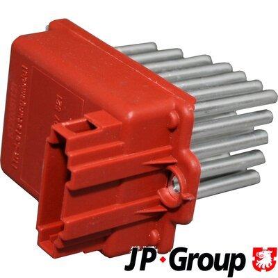 Odpor vnútorného ventilátora JP Group A/S