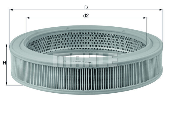 Vzduchový filter MAHLE Aftermarket GmbH