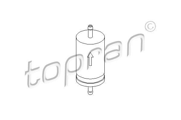 Palivový filter Hans Pries GmbH & Co. KG