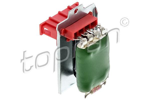 Odpor vnútorného ventilátora Hans Pries GmbH & Co. KG