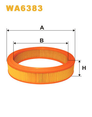 Vzduchový filter Filtron