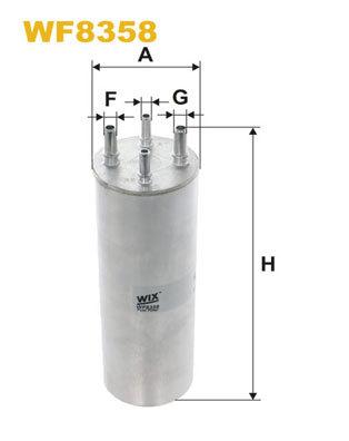 Palivový filter Filtron