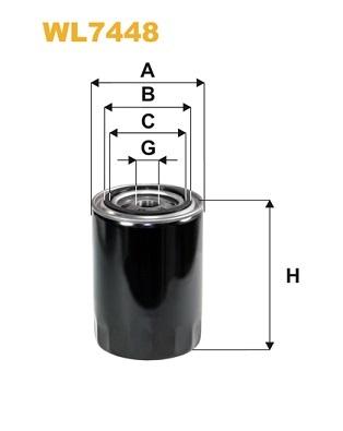 Olejový filter MANN+HUMMEL Filtration Technology Poland