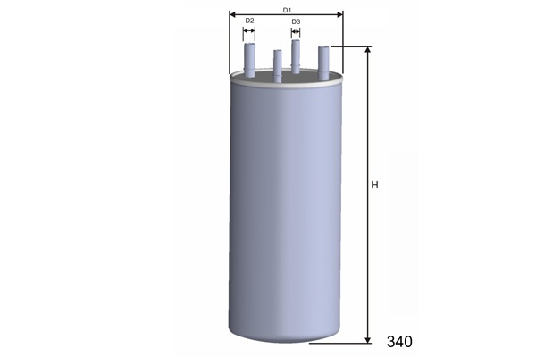 Palivový filter MISFAT FILTRATION