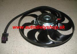 VW Polo 1/02-5/05 ventilátor chladiča 290mm 220/60W