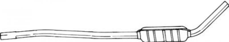 Lada NIVA I 77-  stredný tlmič výfuku VECTOR