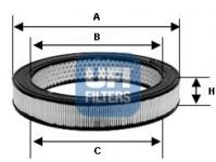 Lada NIVA I 77- vzduchový filter UFI