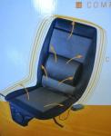 Poťah sedačky masáž.+výhrev.12V/230V