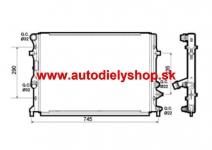 VW CADDY 06/10 - chladič vody 1,2TSi