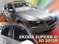 Deflektory Škoda Superb III Combi, od r.2015 ...