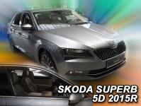 Deflektory Škoda Superb III, od r.2015