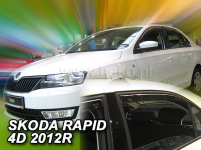 Deflektory Škoda Rapid Spaceback od r.2012 (+ZN)