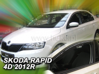 Deflektory Škoda Rapid Spaceback od r.2012