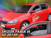 Deflektory Škoda Fabia III Hatchback od 2014r.-->