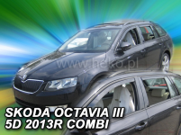 Deflektory ŠKODA OCTAVIA III 5D 2013R.-> (+ZN) ...