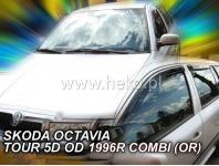 Deflektory ŠKODA OCTAVIA TOUR 4/5D 1996R. ->