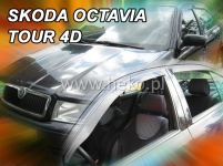 Deflektory ŠKODA OCTAVIA TOUR 4D 1996R. -> (+ZN) ...