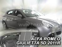 Deflektory ALFA ROMEO GIULIETTA 5D od 2010r.-->(+ZN)
