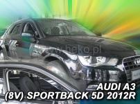 Deflektory AUDI A3 (V8) SPORTBACK 5dv. od 2012r.-->