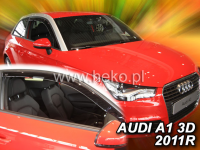 Deflektory AUDI A1 3dv. od 2010r.-->
