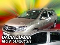 Deflektory DACIA LOGAN MCV II 5D 2013R.-> (+ZN)