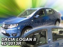 Deflektory DACIA LOGAN II 4D 2013R.-> (+ZN)