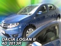 Deflektory DACIA LOGAN II 4D 2013R.->
