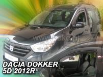 Deflektory DACIA DOKKER 5D 2012R->