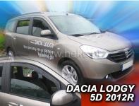 Deflektory Dacia LODGY 5dv. 2012r.-> (+ZN)
