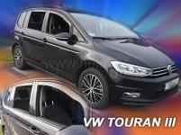 Deflektory VW Touran od r.2015 (+ZN)