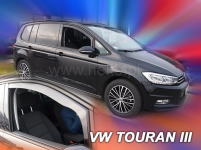 Deflektory VW Touran od r.2015