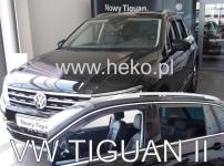 Deflektory VW Tiguan od r.2016 (+ZN)