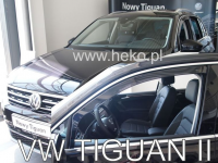 Deflektory VW Tiguan od r.2016