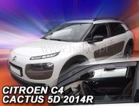 Deflektory Citroen C4 Cactus, od r.2014