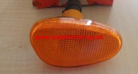 Alfa 145,146 6/94-7/99  bočná smerovka oválna oranž. ľavá