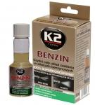 K2 BENZIN 50ml - Čistič benzínovej palivovej ...