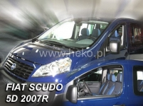 Deflektory FIAT SCUDO 02/2007r.→