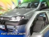 Deflektory FIAT STRADA, 2dv. 2007r.→